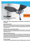 MagFan - Ultra Efficient Wall Fan Brochure