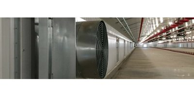 AddAir - Poultry House Heater and Heat Exchanger - One Unit