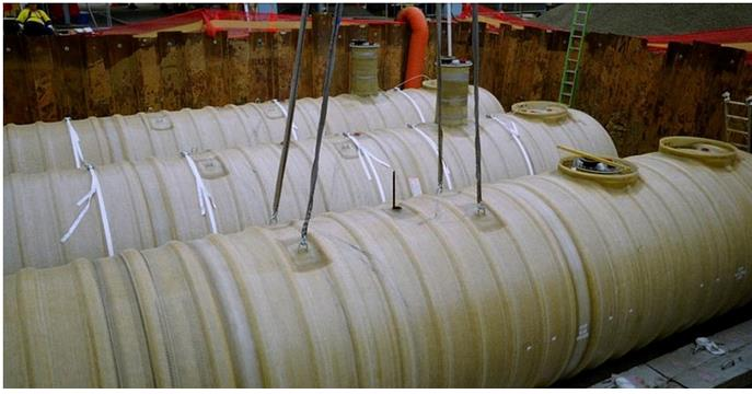 3D Fiberglass Fabrics for Underground Double Wall Tank - Water and Wastewater - Water Storage
