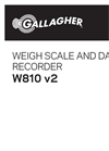 Gallagher - Model W810 - Weigh Scale & Data Recorder Brochure