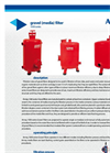 Arma - Model SF Series - Suction Filters Brochure
