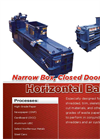 Narrow Box Closed Door Horizontals Brochure for HL Horizontal Balers