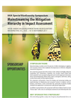 Mitigation Hierarchy Symposium - Sponsorship Brochure