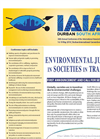 IAIA18 - 38th Annual Conference of the International Association for Impact Assessment - First Announcement