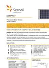 Sensol - UNB5P - Polycrystal Solar Module Datasheet