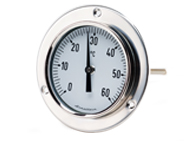 Backmounted Bimetal Dial Thermometers