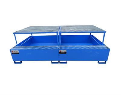 Model LWH - Steel Spill Containment Pallet for IBC Tank