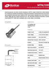 Monitran - MTN/2285C Series - General Purpose, Top-Entry Velocity Transducer Datasheet