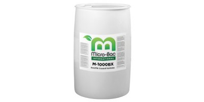 Micro-Bac-International - Model M-1000BX - For the Degradation of Gasoline Waste