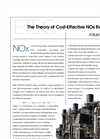 The Theory of Cost-Effective NOx Reduction - Brochure