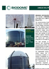 BIODOME - Double Membrane Roofs - Swedish Biogas Plant Brochure