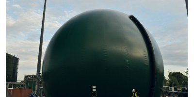 BIODOME - Double Membrane Gas Holders of Ground Mounted