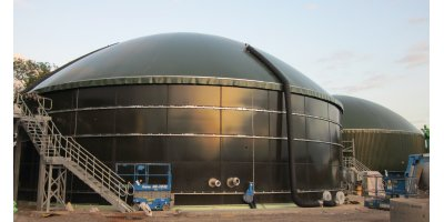 BIODOME - Double Membrane Gas Holders of Tank Mounted