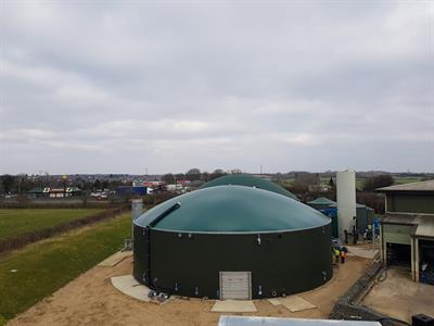 BIODOME - Tank Mounted Double Membrane Gas Holders