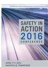 SAFETY IN ACTION 2016 CONFERENCE - Brochure
