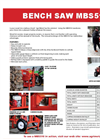Model MBS624 and MBS724 - Portable Bench Saw Brochure