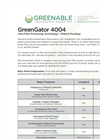 GreenGator 4004 Brochure