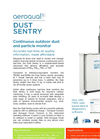 Dust Sentry Continuous Outdoor Dust and Particle Monitor Brochure