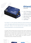 Thiamis - Model 820G - Intelligent Control Unit (ICU) for Remote Monitoring System Datasheet