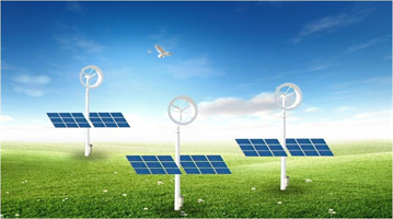 Model 7KW - Wind and Solar Integrated Power Generation System