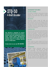 Shred-Tech - Model STQ Series - Four Shaft Shredders - Brochure