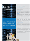 Shred-Tech - Model ST-15 - Two Shaft Shredder - Brochure
