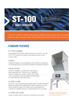 Shred-Tech - Model ST 100 - Two Shaft Shredder - Brochure