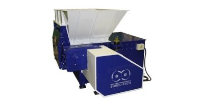 Shred-Tech - Model STS-2 - Single Rotor Shredder