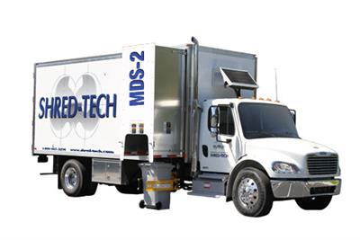 Shred-Tech - Model MDS-2 - Mobile Shredding Truck