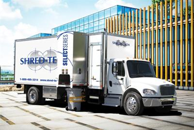 Shred-Tech - Model Select Series - Mobile Collection Trucks