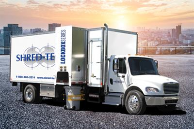 Shred-Tech - Model Lockbox Series - Mobile Collection Trucks