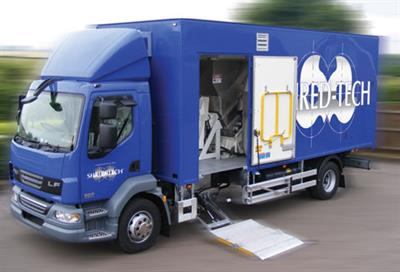 Shred-Tech - Model MDS-3-UK/EU - Mobile Shredding Truck
