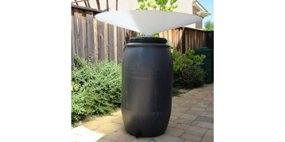 GutterMate - Model RainBowl - Portable Rainwater Collector