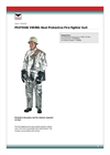 Fire Fighter Heat Protective Suit - Brochure