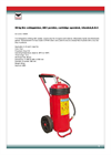 Wheeled Fire Extinguisher - Brochure