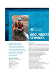 Groundwater Services Brochure