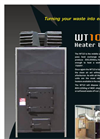 WT10 - Wood Waste Heater Unit - Brochure