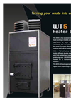 WT5 - Wood Waste Heater Unit - Brochure
