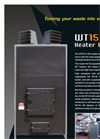 WT15 - Wood Waste Heater Unit - Brochure