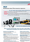 Model NG-9 - Network Analyzers Brochure