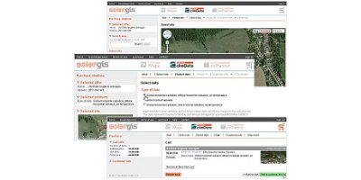 SolarGIS climData - Database Software