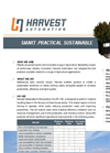 Harvest Automation - Model HV-100 - Robotics Innovators Datasheet