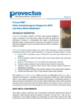 Provect-IRM™ Solid, Antimethanogenic Reagent Technical Data Sheet