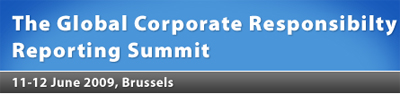 The Global Corporate Responsibility Reporting Summit 2009