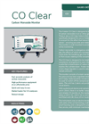 Analox - Model CO Clear - Carbon Monoxide Monitor - Brochure