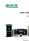 Analox - Model AX60+ - Wall-Mountable Multi Gas Monitor - User Manual