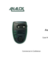 Analox - Model ASPIDA - Carbon Dioxide and Oxygen Portable Monitor - User Manual