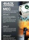 Analox - Model MEC - Monitoring Toxic Gases in Breathing Air - Brochure