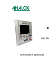 Analox - Model SDA - Helium - Saturation Control Gas Monitoring - User Manual