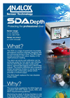 Analox - Model SDA Depth - Saturation Control Gas Monitoring - Brochure